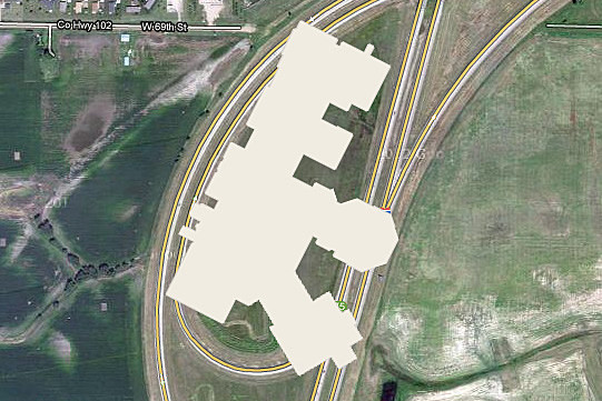 I-229 Loop & Mall Footprint