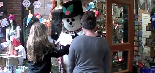 Snowmand Prank