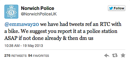 We suggest you report it at a police station ASAP if not done already and then [message] us