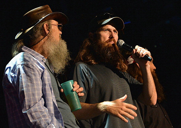 Si Robertson and Jase Robertson of Duck Dynasty
