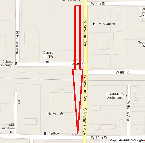 Kiwanis Avenue Closure