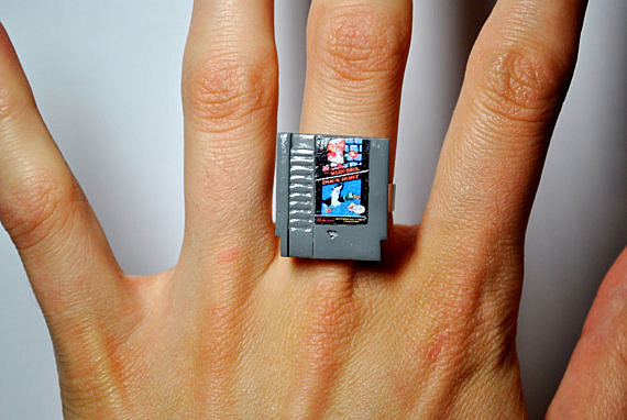 Similiar Nerd Wedding Ring Woman Keywords