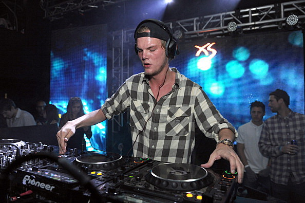 DJ Avicii performs at Wynn Las Vegas