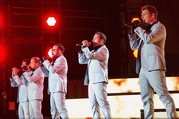 "Backstreet Boys ""In A World Like This"" 2013 Tour - Opening Night"