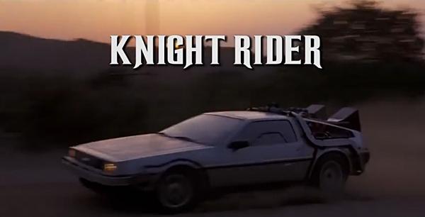 Knight Rider to the Future