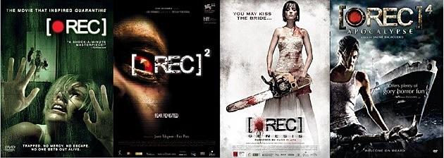 REC, REC 2, REC 3: Genesis, REC 4: Apocalypse