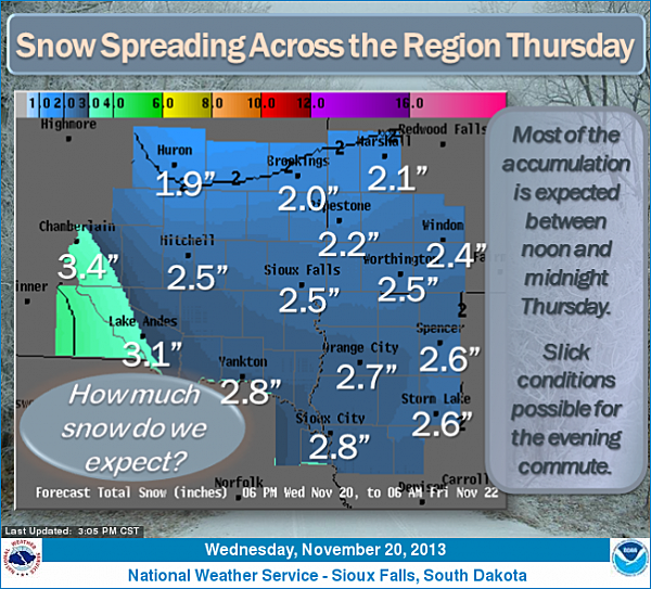 NWS Weather Story 11/20/13