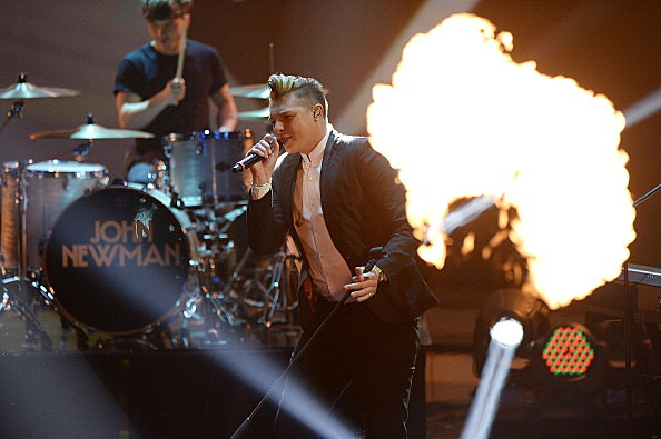 John Newman performs during the taping of the 'Menschen 2013' Show
