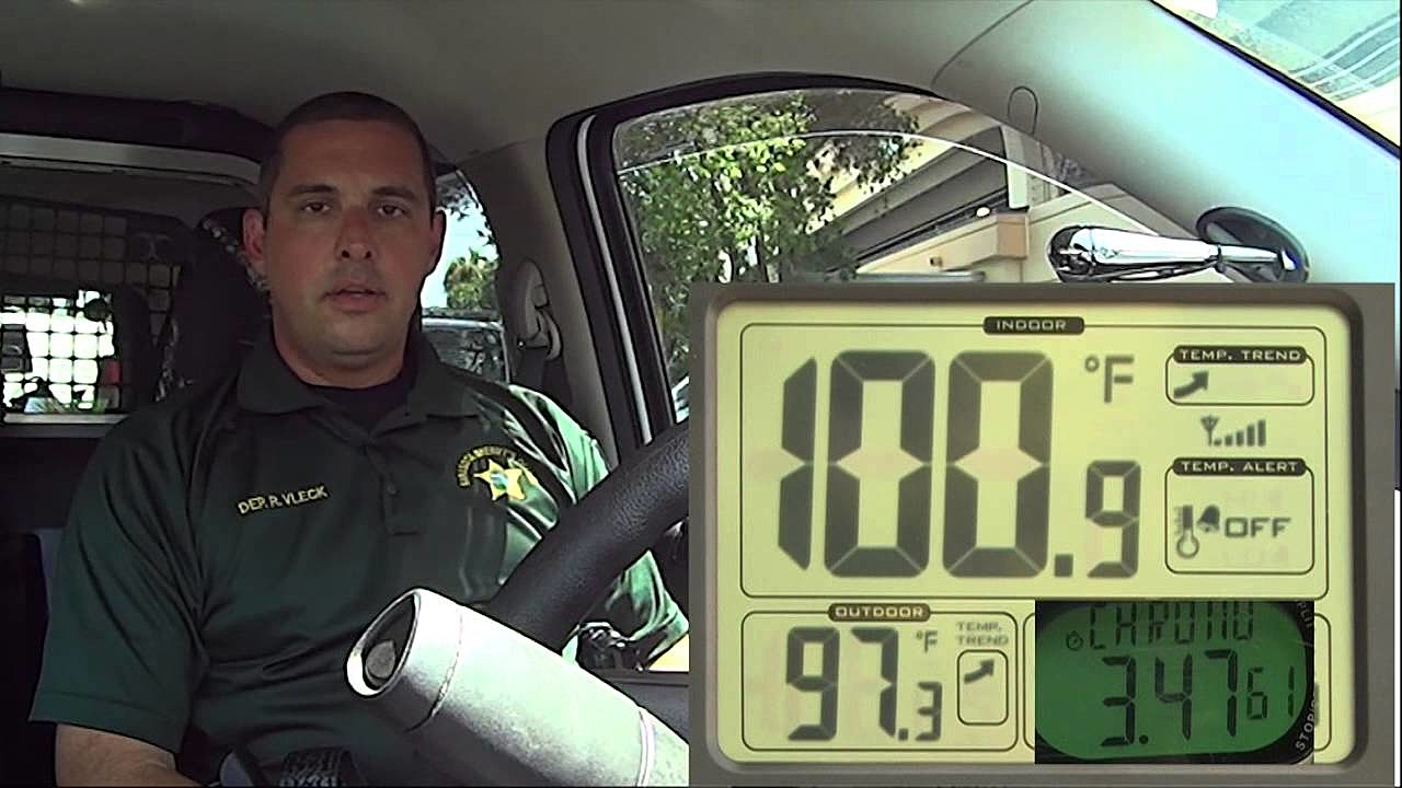 Extreme Temperatures in Hot Car Demonstration