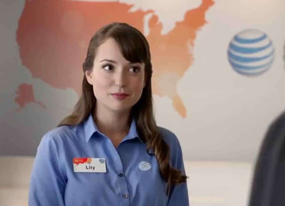who is lilly the woman in the at t commercials