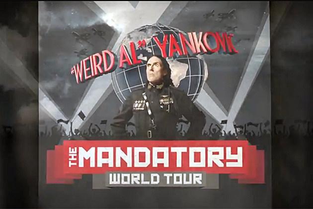Weird Al - The Mandatory World Tour
