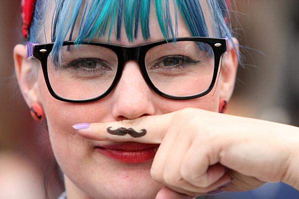 Hipster Horn-Rimmed Glasses