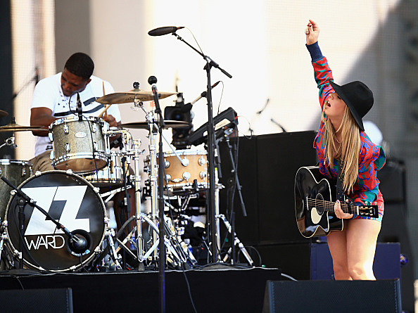 ZZ Ward performs onstage