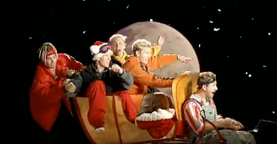 Throwback Thursday - N Sync 'Merry Christmas Happy Holidays' (1999)