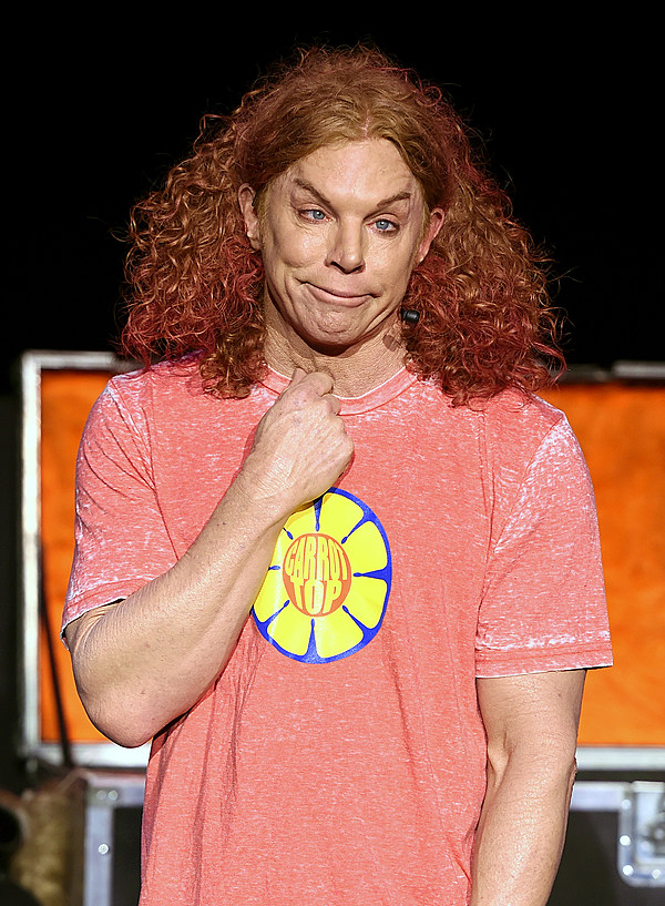 Carrot Top To Perform At The Hard Rock In Sioux City