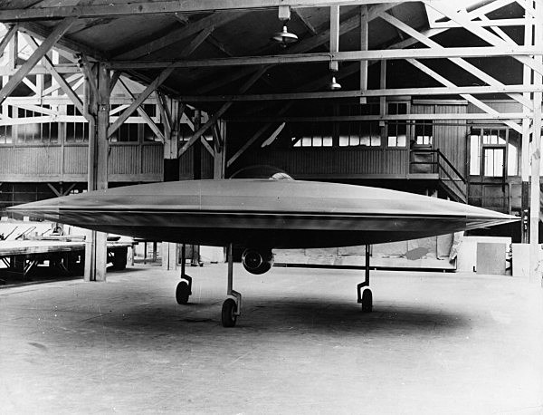 Couzinet's Flying Saucer