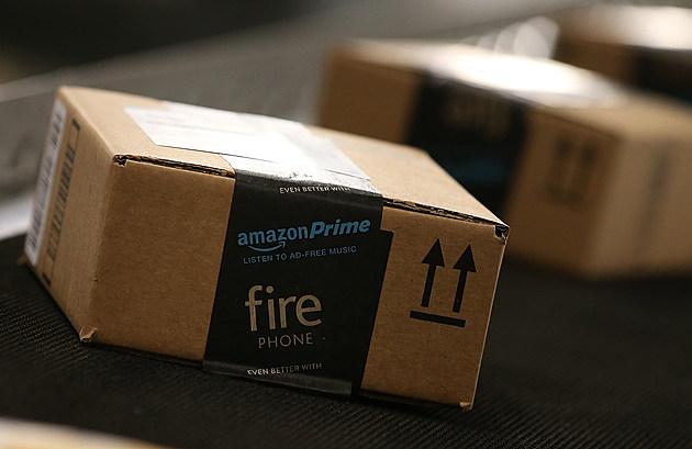 Amazon Box at Fulfillment Center
