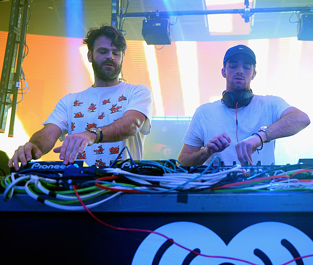 "iHeartMedia celebrates CES 2017 with a private ""iHeartRadio Live"" party featuring a performance by The Chainsmokers."