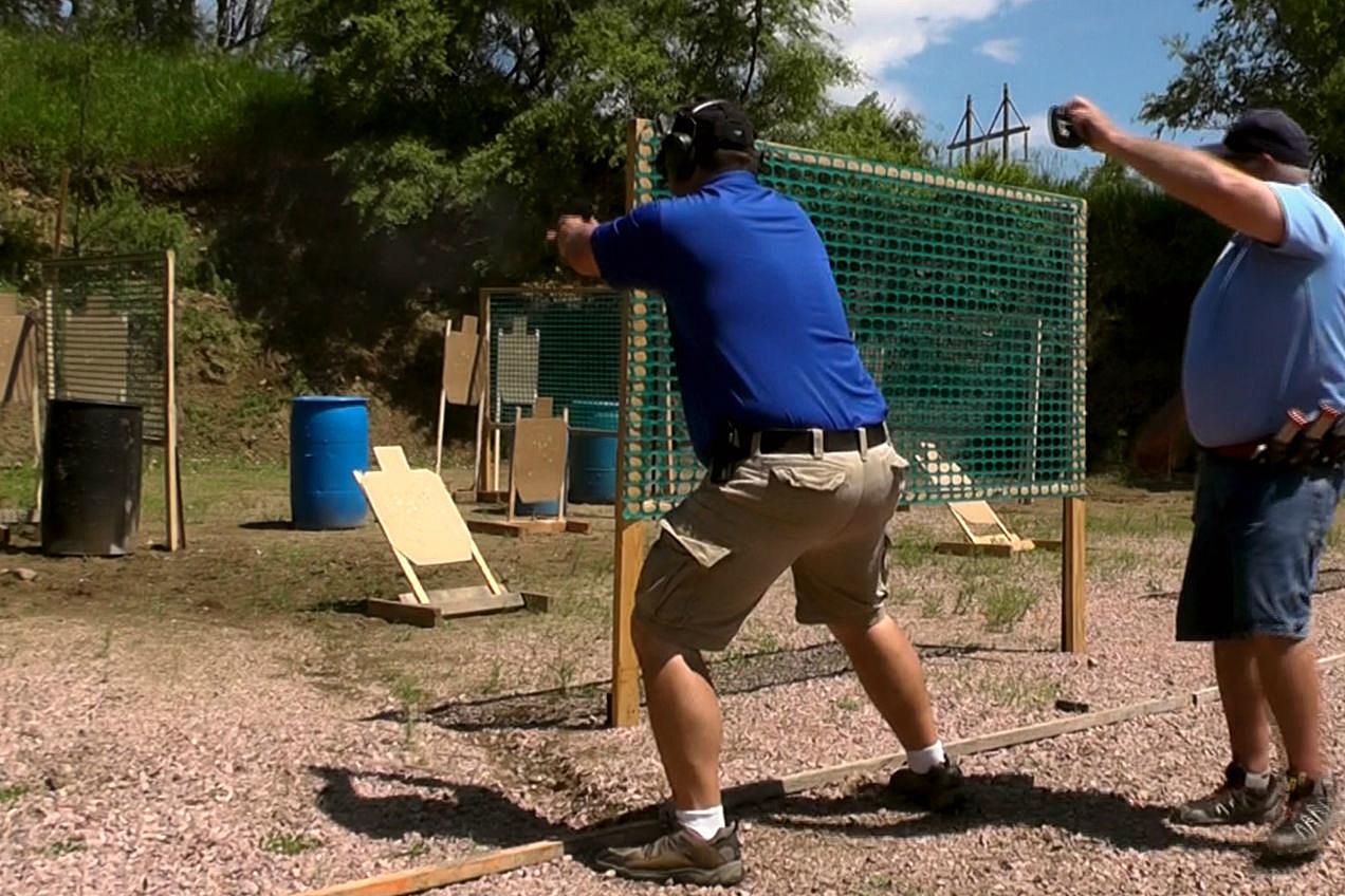Andy Shooting USPSA