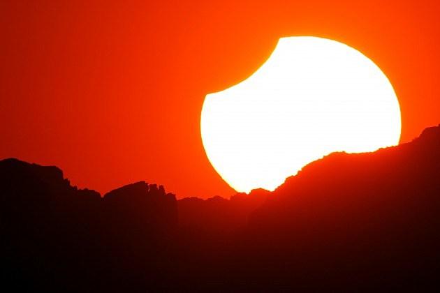 Annular Solar Eclipse Observed In California