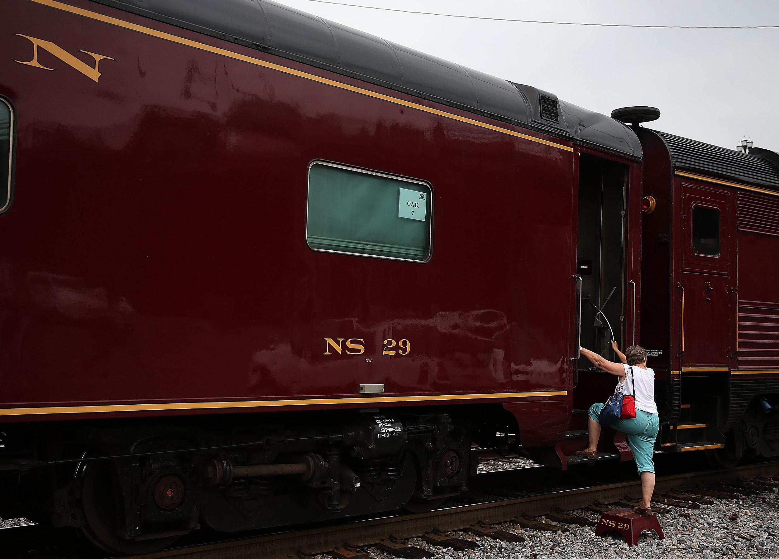 Historically Restored Steam Engine