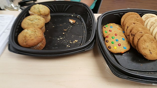 Who brought these cookies into the office?!?!
