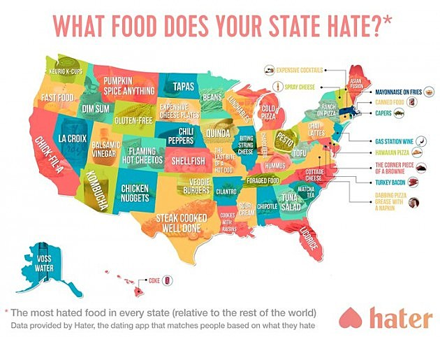 Hater App Food Map