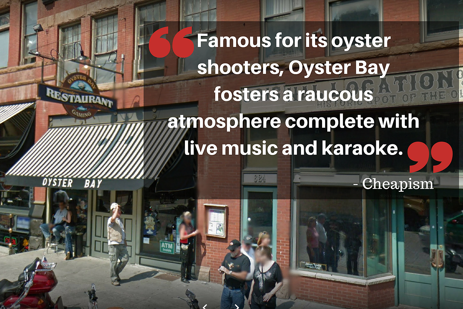 Oyster Bay Cheapism Quote